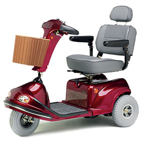 Large Range Scooter